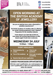 Open Morning at the British Academy of Jewellery